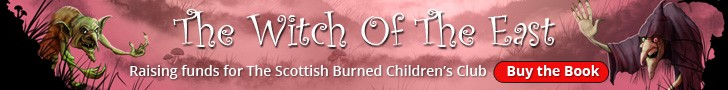 The Witch Of The East - Raising funds for The Scottish Burned Children's Club Buy a Book